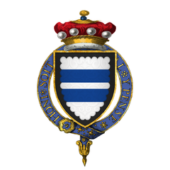 Coat of Arms of Sir William Parr, 1st Baron Parr-of Kendal, KG.png