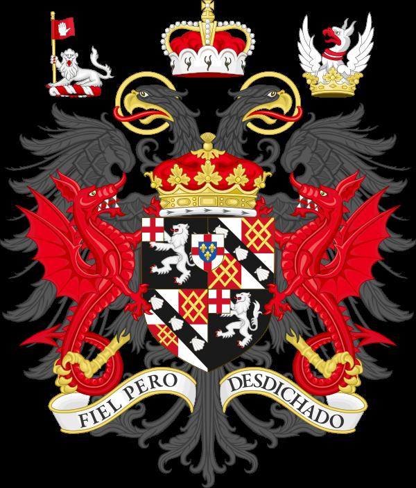 Coat of arms of the duke of Marlborough