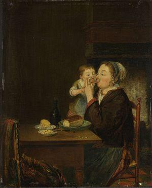 Louis Bernard Coclers - Image: Coclers, L B, Moeder met kind, 1794 (Rijksmuseum Amsterdam)