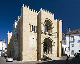 Fortified Old Cathedral of Coimbra, Portugal