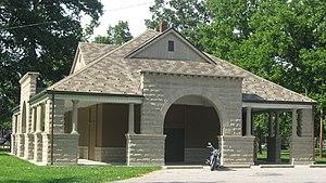 Collett Park - Pavilion in the park
