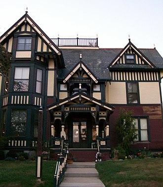 Joseph D. Taylor - Taylor's house in Cambridge, Ohio.