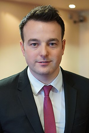 Social Democratic and Labour Party - Colum Eastwood MLA, leader of the SDLP since 2015