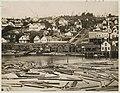 Columbia St from Yesler's wharf, Seattle, 1880 (MOHAI 9689).jpg