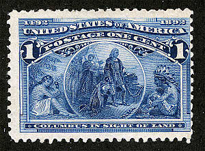 Columbian Issue - The 1¢ Columbian