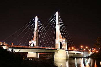 Lane Avenue Bridge in Columbus, Ohio, near The...