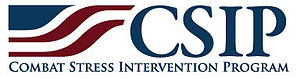 Combat Stress Intervention Program - Image: Combat Stress Intervention Program logo