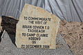 Commerative Stone for Visit of An Taoiseach Brian Cowen TD in Camp Clarke KFOR (4427515216).jpg