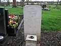 Commonwealth War Grave in Jarrow Cemetery (WW2-05) - geograph.org.uk - 1604390.jpg