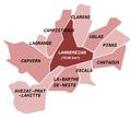 Communes limitrophes de Lannemezan.png