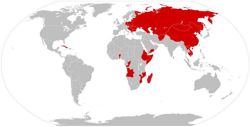 Communist countries 1979-1983