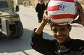 Community Policing in Shay'k Sa'ad, with soccer balls DVIDS135685.jpg