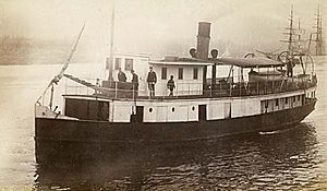 Comox (steamboat) - Image: Comox (steamboat) circa 1892