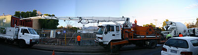 Concrete pump - Wikipedia