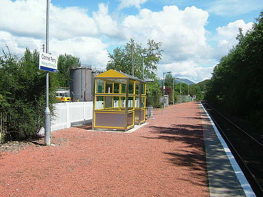 Connel Ferry railway station