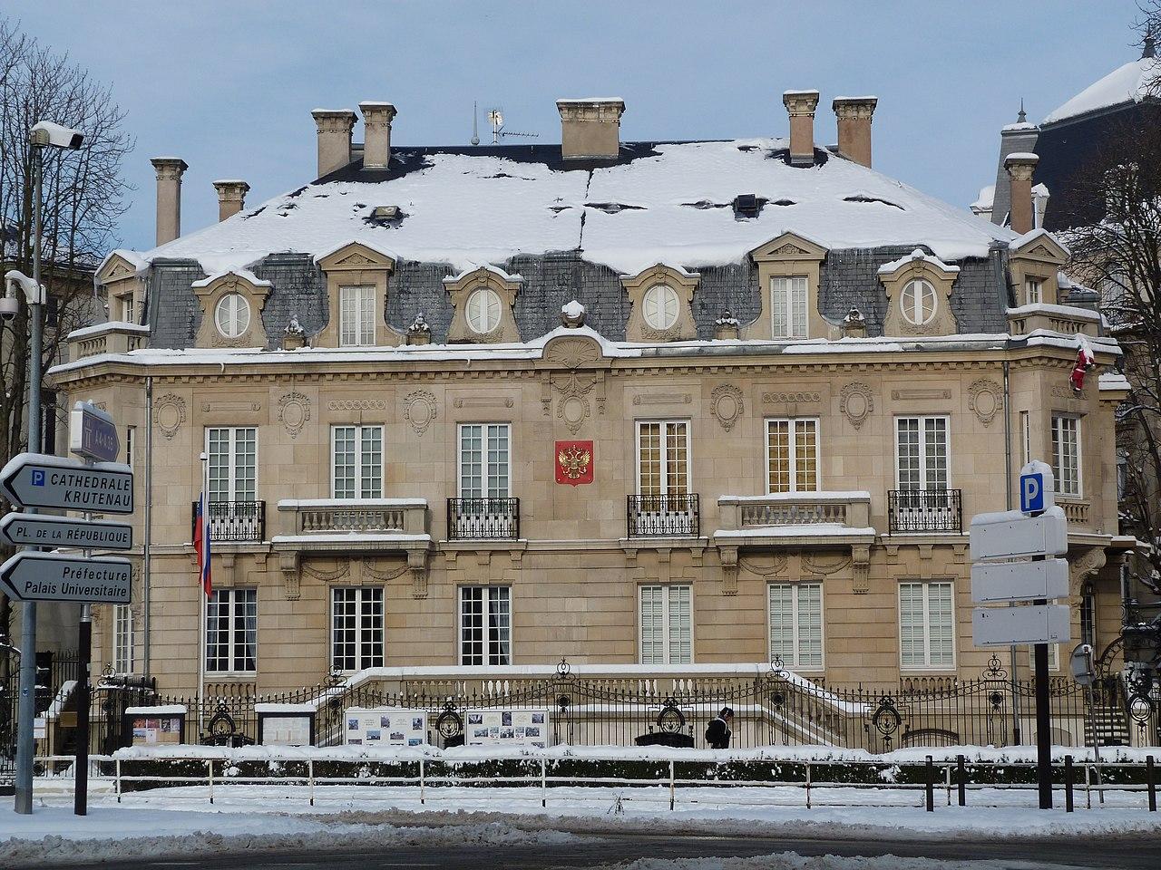 Consulat de Russie Strasbourg : adresse, tlphone