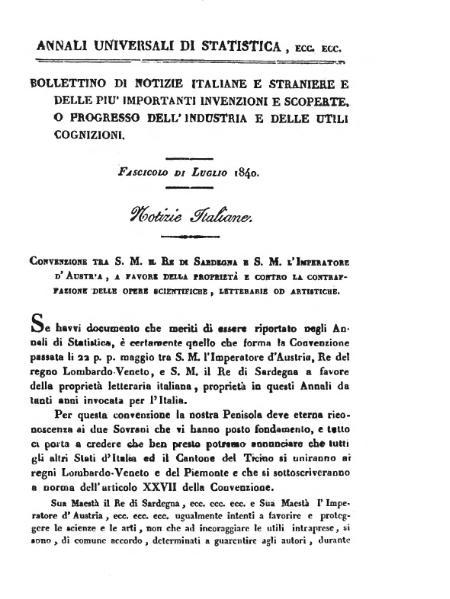 File:Convenzione Sardegna-Austria sulla proprietà scientifica, letteraria e artistica.djvu