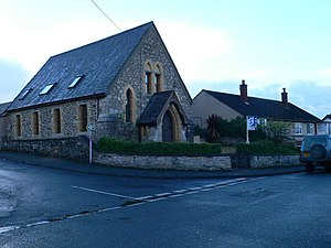 Llandyrnog - Converted chapel in Llandyrnog