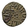 Copper alloy styca of King Raedwulf (YORYM 2000 3574) obverse.jpg
