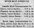 Coquille River boat schedule 1914.jpg
