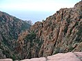 Corsica - Porto-Piana - deep clefts - Calanches - panoramio.jpg