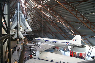 Aviation museum in RAF Cosford, Shropshire