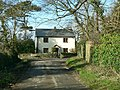 Cottage on Abbey Road, Ewenny, at its junction with Tingle Lane - geograph.org.uk - 1151551.jpg