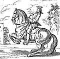 Courbette, Ecole de cavalerie, La guérinière ed 1733.jpg