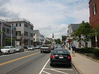 Plymouth, Massachusetts - Court Street, Plymouth Center, 2009