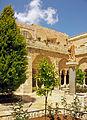 Courtyard at Church of the Nativity, Bethlehem.jpg