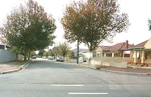 Cowandilla, South Australia - Street in Cowandilla
