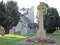 Cowfold church and war memorial.JPG