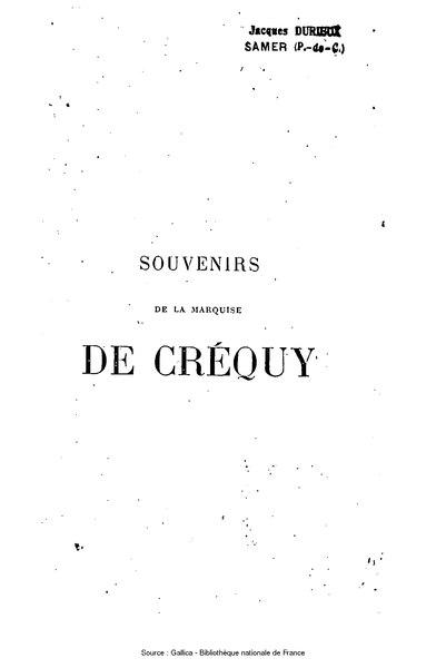 File:Créquy - Souvenirs, tome 7.djvu