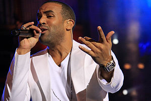 Craig David - David performing in Gran Canaria, 2009