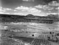 Crater Hill lava flow near southwest corner of Zion National Park. ; ZION Museum and Archives Image ZION 8961 ; ZION 8961 (71ce319bda544cd48113875ec13bb066).tif