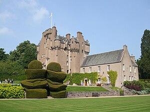 House of Burnett - Image: Crathes Castle 2