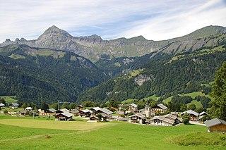 Crest-Voland Commune in Auvergne-Rhône-Alpes, France