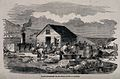 Crimean War, Russia; soldiers doing their laundry at Balakla Wellcome V0015408.jpg