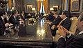 Cristina Fernández con funcionarios y gobernadores analizan medidas para el agro.jpg