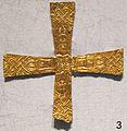Crocetta d'oro longobarda, da milano, VI-VIII sec..JPG