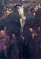 Crocifissione e santi - O. De Ferrari (Cagliari).png