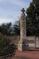 croix de cimetière de Louin