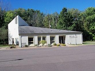 Chippewa Lake, Ohio - CrossPointe Church occupies the former Jesus Divine Redeemer Catholic Church building