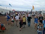 Crowds on the second public day at the 2015 Australian International Airshow 7.jpg