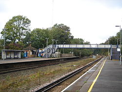 Crowhurst railway station