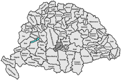 Location of Csongrád