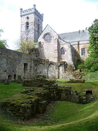 Culross Abbey - Image: Culross Abbey, Fife, Scotland