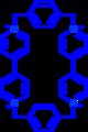 Cyclobis(paraquat-p-phenylene) cation.png