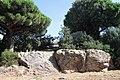 Détail de la roche du santuaire d'Aristée.jpg