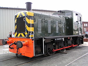 British Rail Class 03 - D2069 at Doncaster Works open day on 27 July 2003